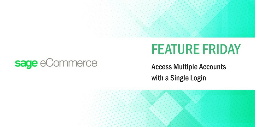 #FeatureFriday: Access Multiple Accounts with a Single Login