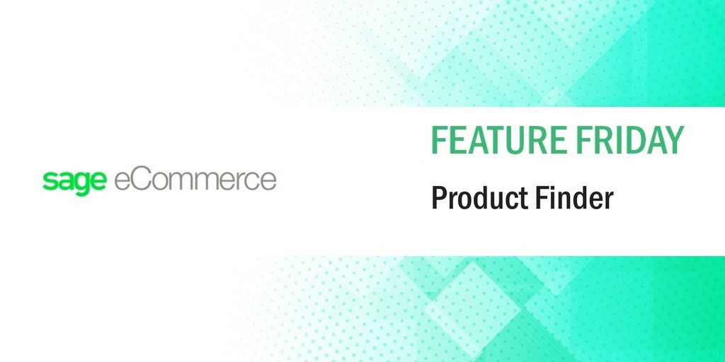 #FeatureFriday: Product Finder