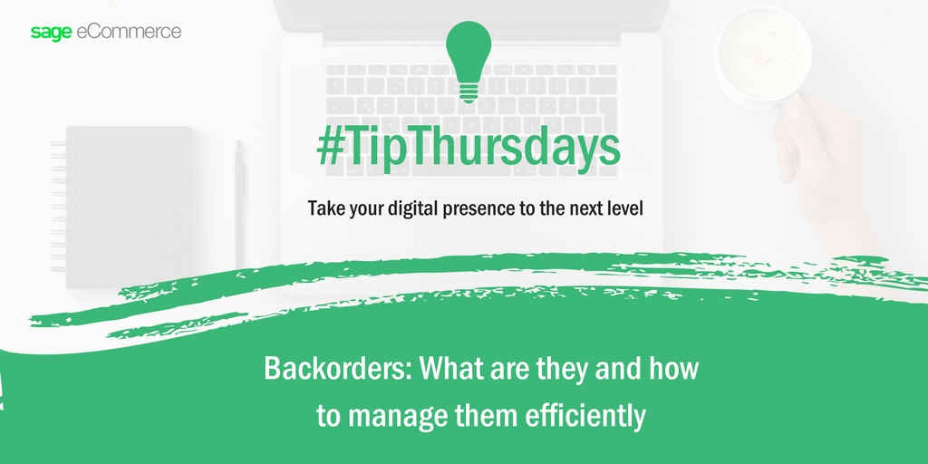 #TipThursday: What are Backorders?